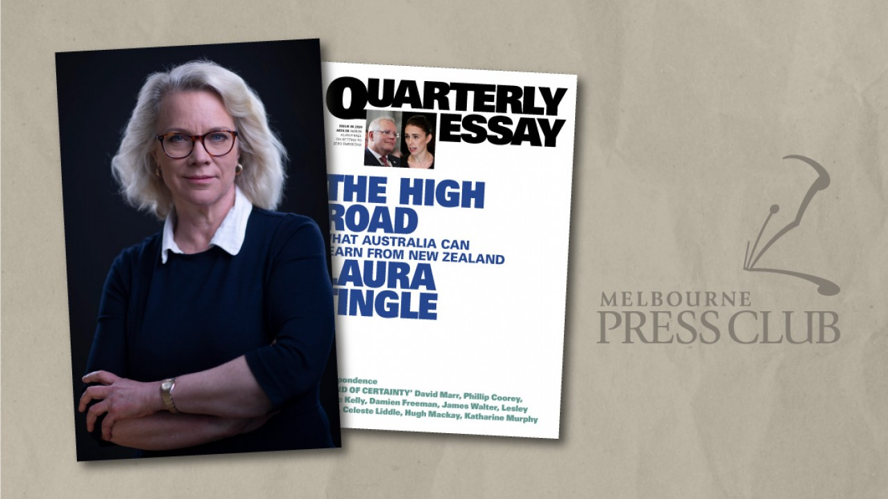 Event at My Bookshop: The High Road: Laura Tingle In Conversation