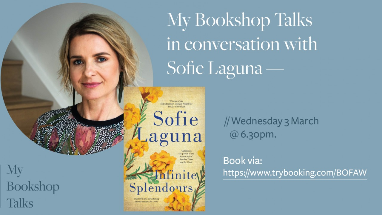 Event at My Bookshop: My Bookshop Talks with Sofie Laguna