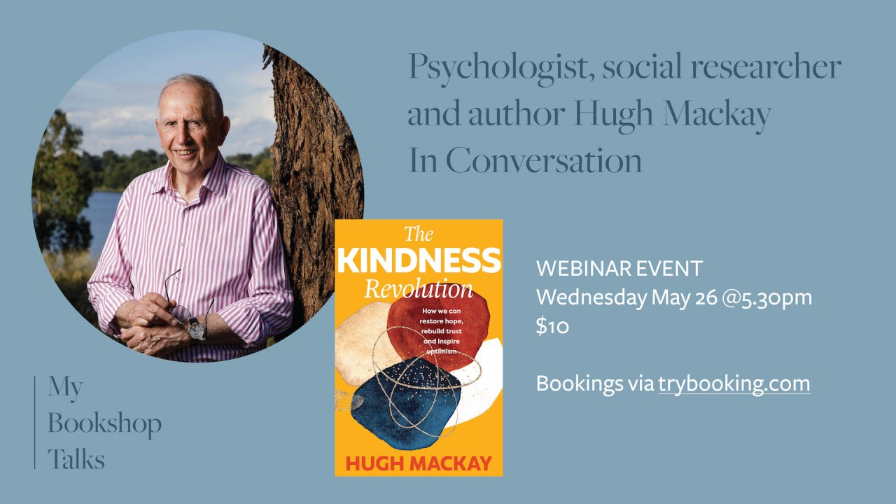 Event at My Bookshop: Corrie Perkin in Conversation with Hugh Mackay