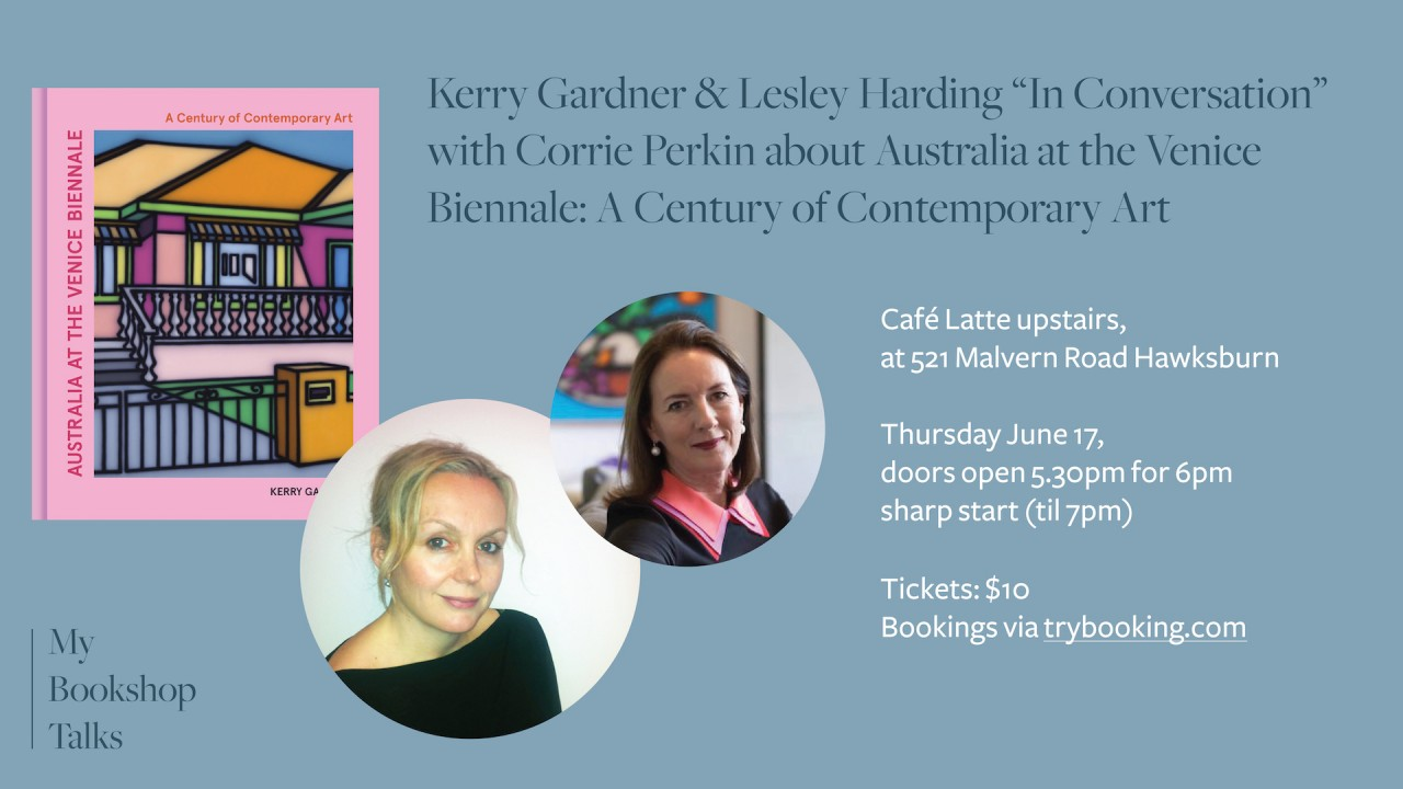 """Event at My Bookshop: Kerry Gardner & Lesley Harding """"In Conversation"""" with Corrie Perkin"""